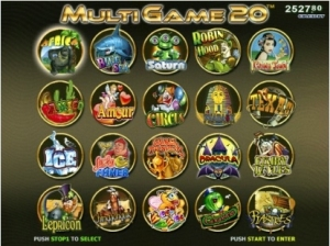 AMIGO 20  IN 1 (MULTIGAME)