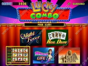 Lucky Combo 5 in 1 (Multigame)